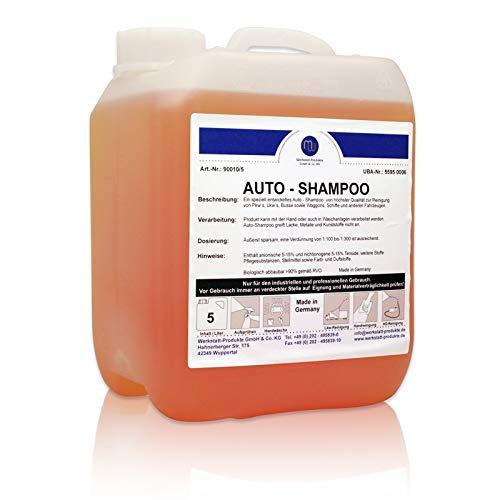 MW Auto Shampoo Konzentrat Reiniger Autowäsche waschen Pflege Glanz 5L