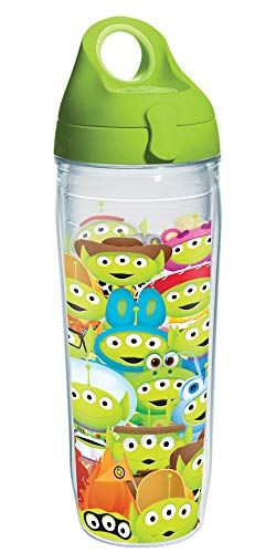 Tervis DisneyPixar Alien Collage Insulated Tumbler, 24oz Water Bottle, Clear - Tritan