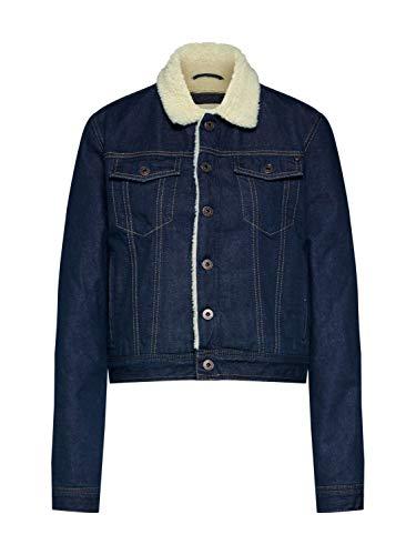 Giacca di Jeans con Interno in Pecora