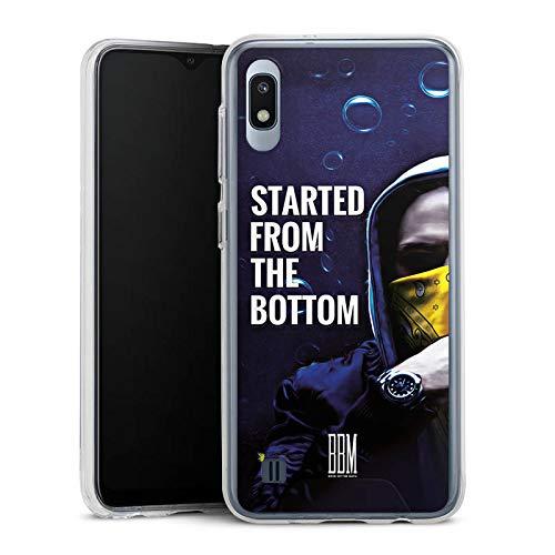 DeinDesign Handyhülle kompatibel mit Samsung Galaxy A10 Bumper Case Schutzhülle Spongebozz Started from The Bottom Merchandise