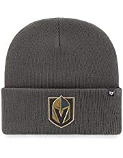 47 Brand Las Vegas Golden Knights Charcoal Haymaker NHL Cuff Knit Beany Beanie One Size Forty Seven