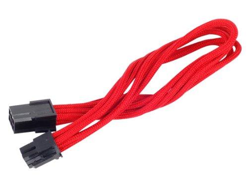 Silverstone Tek Cabo de extensão de alimentação com 1 conector de 6 pinos para PCI-E de 6 pinos (PP07-IDE6R)
