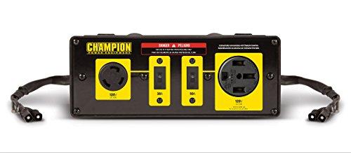 Champion Parallel-Kit für Wohnmobil, 50 A, zum Verbinden von Zwei 2800 Watt oder höheren Wechselrichtergeneratoren