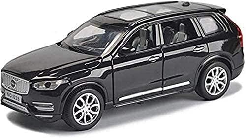 YANGHLO0-Modelo de auto- Simulación Vehículo Modelo Modelo Coche Compatible con Volvo XC90 Vehículo todoterreno SUV 1:32 Simulación Modelo de aleación de la aleación Modelo de juguete Coche Regalos pa