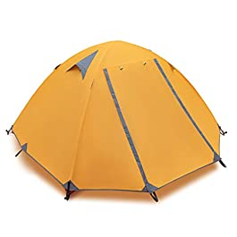 INOVO 1-3 Person Camping Tent, Lightweight Backpacking Tent and Professional Waterproof,Windproof Suitable for Outdoor…