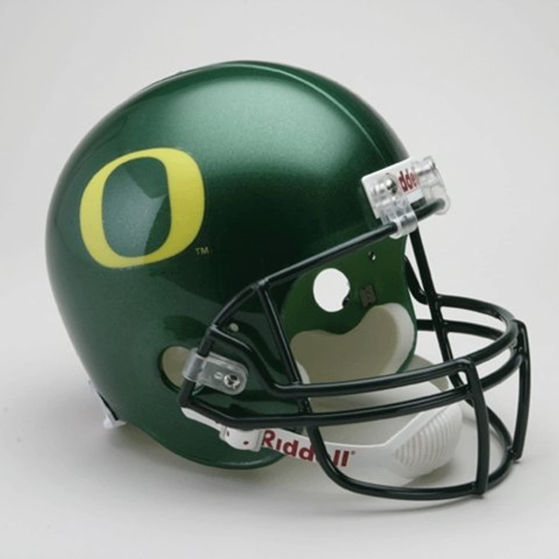 University of Oregon Ducks Full Size Riddell Replica Autograph Helmet