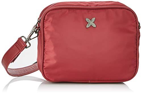 Munich Crossbody Mini Easy, Bolso bandolera para Mujer, Rojo (Wine), 9x18x23 cm (W x H x L)