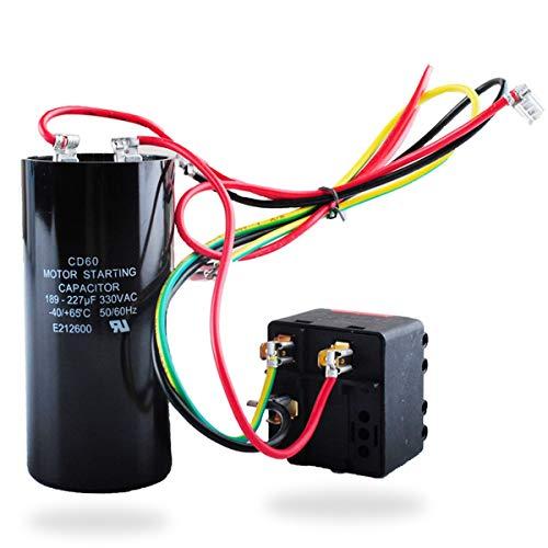 AC Hard Start Capacitor Compatible with 5-2-1 CSR-U2, Compressor Saver for 3.5-4- 5 Tons, Hvac Hard Start Kit