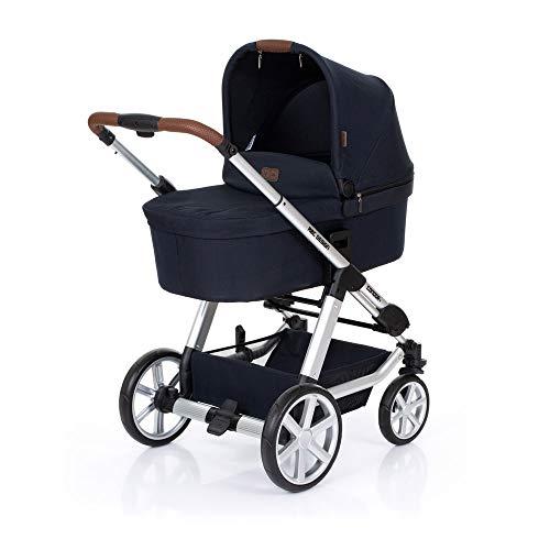 ABC Design Kombikinderwagen Condor 4 Shadow - Kinderwagen Set mit Babywanne & Sportwagen - Blau