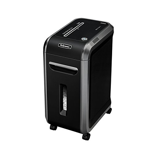 Best Prices! Fellowes 4609001 Micro-Cut Shredder, 12Sht Cap, 25x11x17, Black/Silver