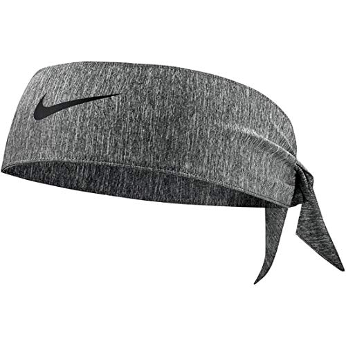 Nike Dry Head Tie Heathered 2.0 Charcoal