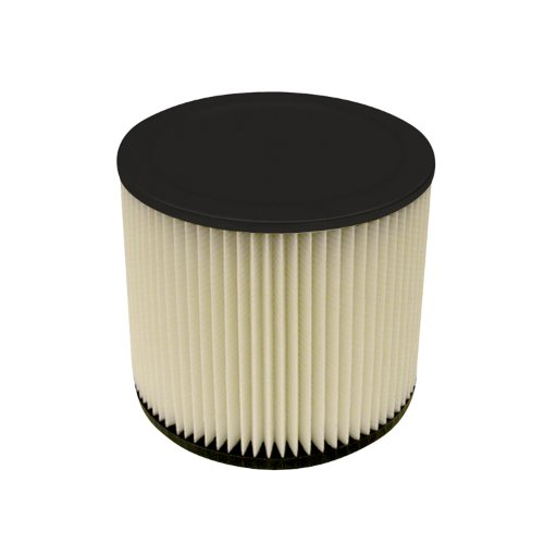 Multi-Fit Wet Dry Vac Filter VF2007 Standard Wet Dry Vacuum Filter (Single Shop Vacuum Cleaner Filter Cartridge) Fits Most 5 gallon or Larger Shop-Vac, Vacmaster & Genie Shop Vacuum Cleaners