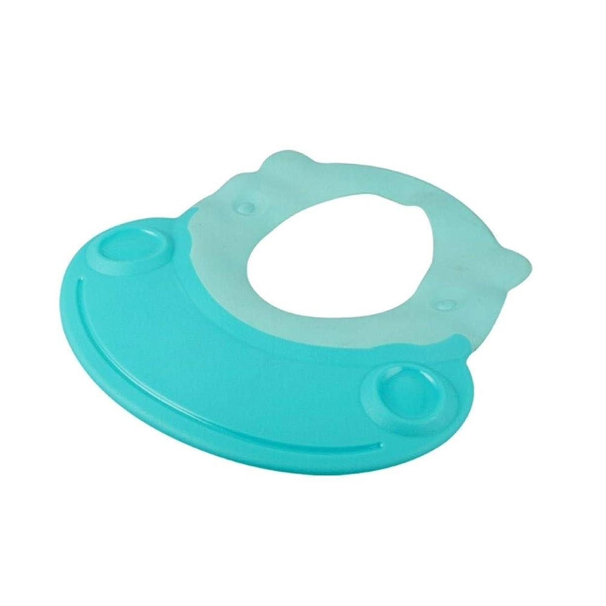 重要なセンター果てしないJJESC シャワーキャップ、天然ゴムシャンプーキャップ、ソフトで柔軟な、から選択するさまざまな色 (Color : Green, Size : 26.6*26.3cm)
