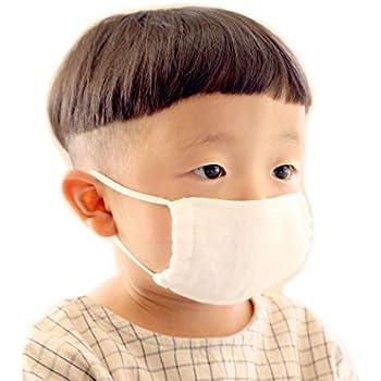 【 0.5〜2歳 マスク 】日本製 今治 ダブルガーゼ 幼児 マスク ホワイト 布マスク 洗える 子ども 赤ちゃん ベビー