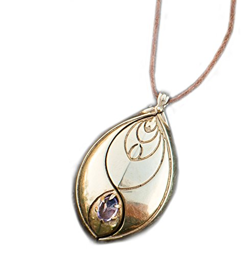 EMF Protection Pendant by Chi-O-Phi - Harmonize Your Being and Protect Yourself from unsettling EMF with This Revolution of Active Jewelry (Gold)