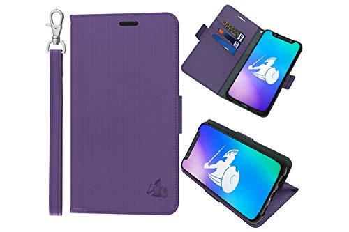 DefenderShield Compatible iPhone 8 Plus/iPhone 7 Plus/iPhone 6 Plus EMF & 5G Protection Radiation Case - Detachable Magnetic Anti Radiation Shield & RFID Blocker Wallet Case w/Wrist Strap