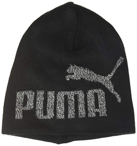 PUMA Kinder ESS Logo Beanie Jr Mütze, Black-NO 1, Youth