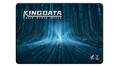 """SSD 2.5"""" SATA3 250GB KINGDATA Unità a stato solido interna Disco rigido ad alte prestazioni per laptop desktop SATA III 6 Gb/s (250GB, 2.5"""" SATA3)"""
