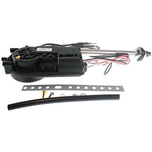 Power AM/FM Radio Antenna compatible with Chevy Truck 30-14 Motorized Fully Automatic Fender Mount