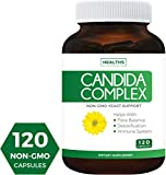 Best Candida Cleanse Supplements - Candida Cleanse (NON-GMO) 120 Capsules: Double the Competition Review