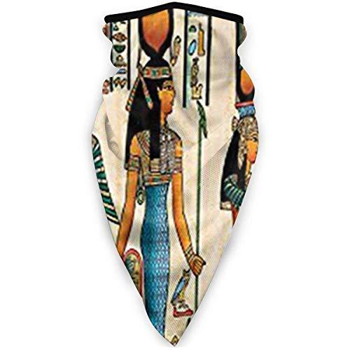 Lfff Winddichte Sport Bandana Gesichtsbedeckung & Atilde; & bdquo; Gypten Pharao Multifunktions-Sturmhaube für den Außenbereich