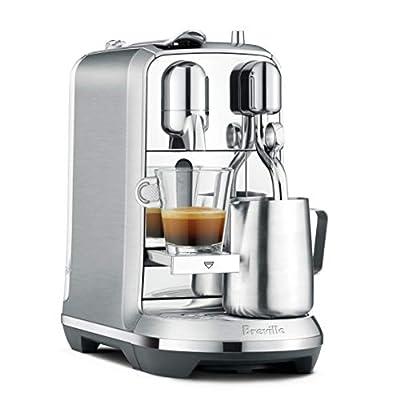 Nespresso BNE800BSS Creatista Plus Espresso Machine by Breville, Brushed Stainless Steel