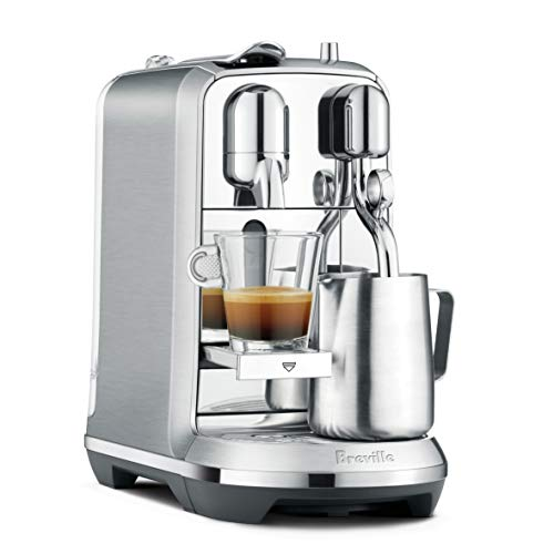 Nespresso Creatista Plus Espresso Machine with Milk Frother by Breville