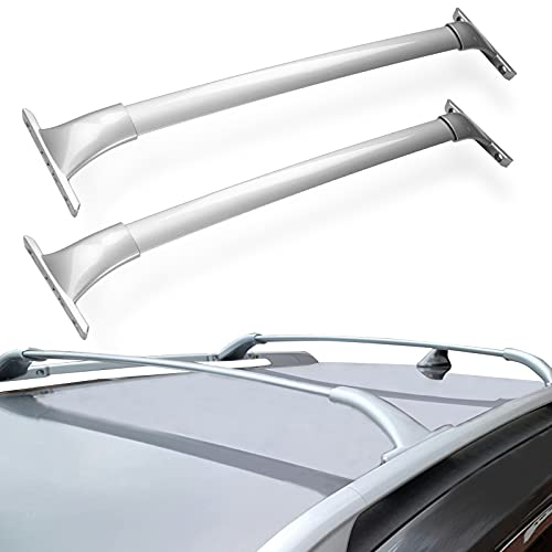 KYX Roof Rack Cross Bars for 2014-2019 Nissan Rogue(NOT for Rogue Select and Rogue Sport), Aero Aluminum Crossbars Silver for Luggage Rack Kayak Canoe Bike Snowboard