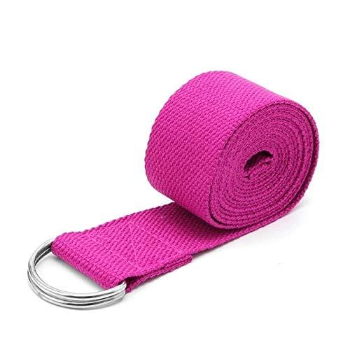 Gather together Red Pilates Yoga Belt Slackline Stretch Band Mat Yoga Strap Training Tool Flex Bar Pull Up Assist Yoga Accessories Women Fitness D30