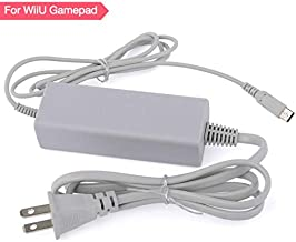 Wii U Gamepad Charger, AC Power Supply Adapter Charger Cable for Nintendo Wii U Gamepad Remote Controller