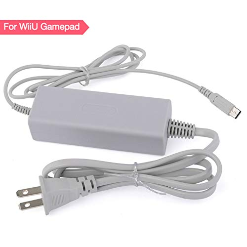 Wii U Gamepad Charger AC Power Supply Adapter Charger Cable for Nintendo Wii U Gamepad Remote Controller