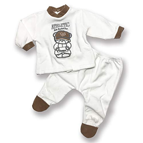 Character World Abbigliamento-Pigiama Ensemble De Pyjama, Beige (Panna), 68 (Taille Fabricant: Small) Bébé garçon