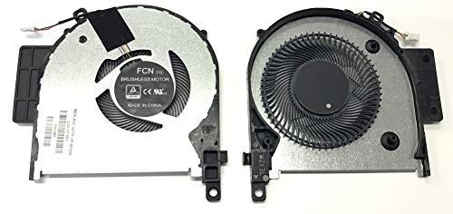 THT Protek Fan Lüfter Kühler Cooler kompatibel mit HP Envy x360 15-cn0007ng (4AV95EA)
