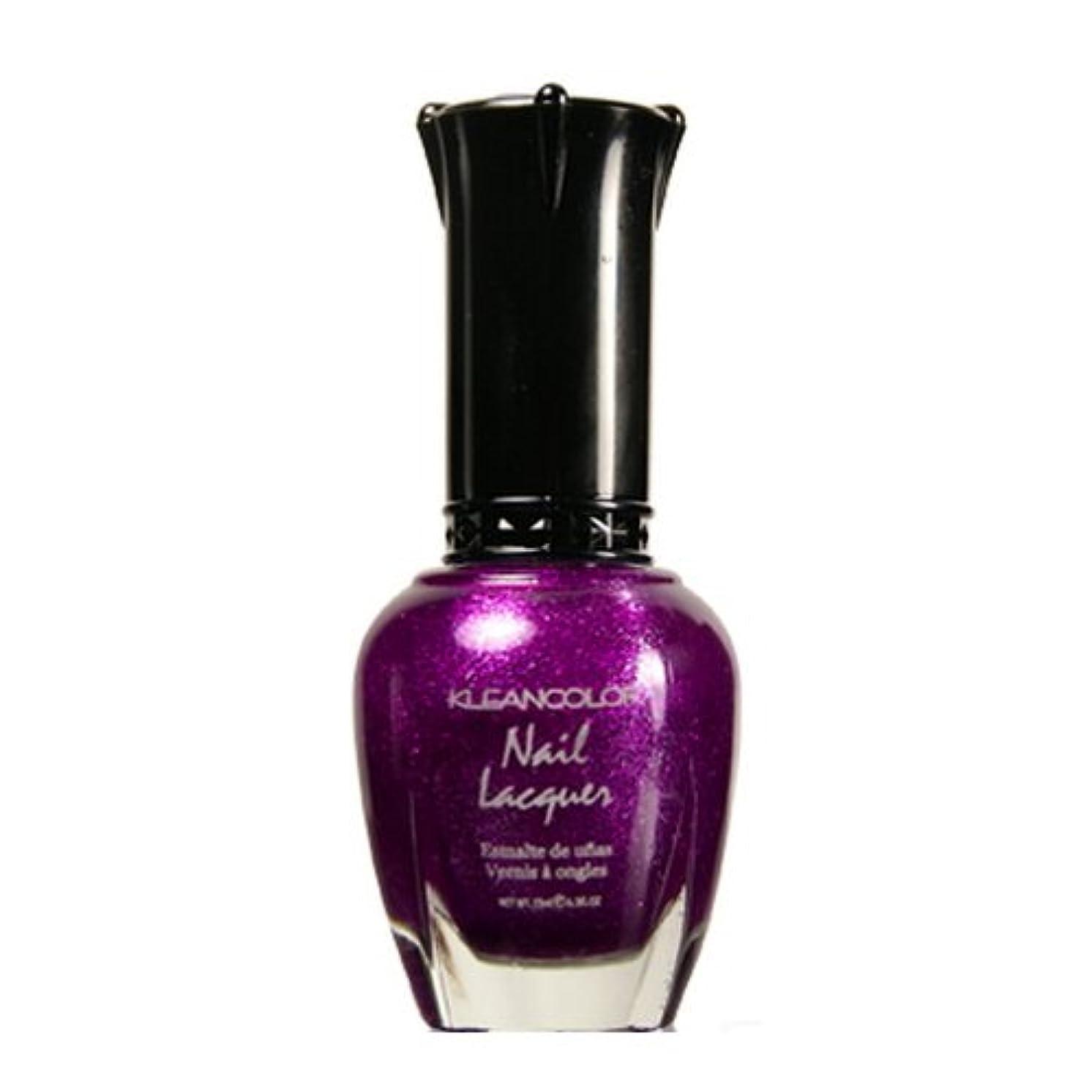 鋭く溶岩急降下(6 Pack) KLEANCOLOR Nail Lacquer 4 - Sparkling Grapes (並行輸入品)