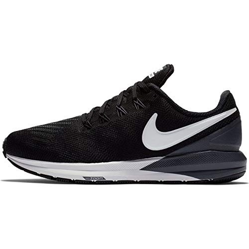 Nike Air Zoom Structure 22 Black/White/Gridiron 8