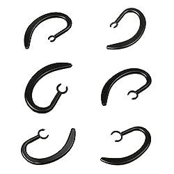 La pince peut être tournée à 360 degrés, vous pouvez rendre l'oreille plus proche des oreilles, vous sentir plus à l'aise. Ces crochets sont un type universel conçu pour s'adapter à autant de modèles Bluetooth que possible. Clamp avec matériel d'ingé...