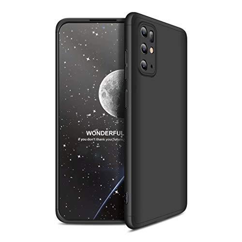 Ttimao Compatible con Funda Samsung Galaxy S20 PC Hard Case [Protector de Pantalla] Anti-Shock Ultrafino 360 ° Caja Protección 3 en 1 Cubierta Protectora (Negro)