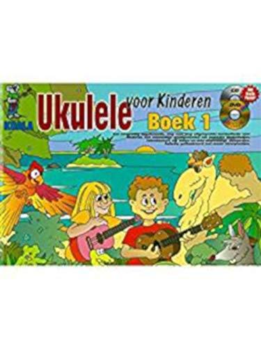 Ukulele Voor Kinderen: Boek 1 (Dutch) (Book/CD/DVD)