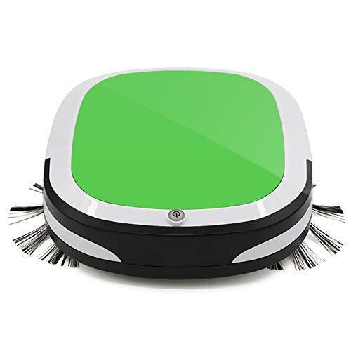 HHORD Aspirapolvere Robot, Aspirapolvere con Auto-Ricarica, 360 ° Smart Sensor Protezione, Multipla di Pulizia di Vuoto Modi Migliori per Pet Capelli,Verde