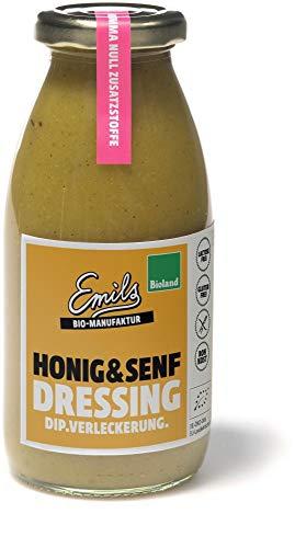 Emils Bio-Manufaktur Bio Bioland Honig & Senf Dressing 250 ml (6 x 250 ml)