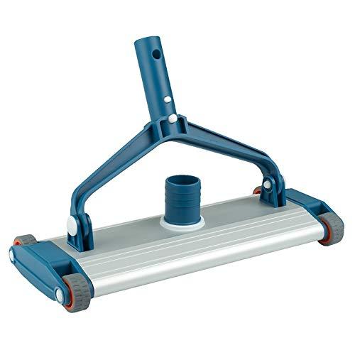 Bricodomo LIMPIAFONDOS Manual ASTRALPOOL EN Aluminio Blue Line 350MM, CONECXIÓN DE MANGERA DE ASPIRACIÓN DE 38mm FIJACIÓN Mediante PALOMILLAS
