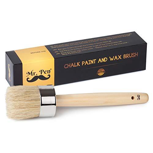 Mr. Pen- Chalk Paint Brush, 2 Inch, Wax Brush, Round Paint Brush, Wax Brush, Chalk Paint Brushes for Furniture, Chalk Paint Brushes, Wax Brush Chalk Paint, Furniture Paint Brush, Chalk Brush