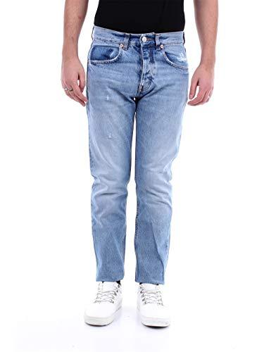 Haikure HEM03130DS043 Slim Uomo Jeans Chiaro 30