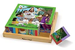 Bible Story Puzzle Blocks