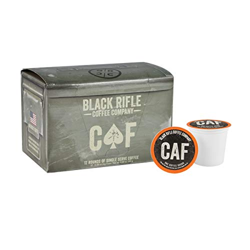 Black Rifle Coffee Company Caffeinated as [REDACTED] Medium Roast Coffee Rounds | 12 Count K Cup Compatible Variety Pack Coffee Pods for Single Serve Coffee | Compatible with Keurig | Perfect Coffee Lovers
