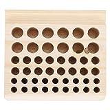 Porte-outil de réparation de montre de fabrication exquise organisateur d'outils d'horloger écologique en bois de haute qualité, pour un usage domestique