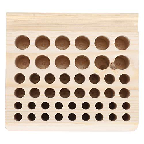46 agujeros Watch Rack Tools, caja organizadora de herramientas de reloj, soporte de herramientas de reparación de relojes de madera para hombres, mujeres, caja de presentación de organizador de reloj