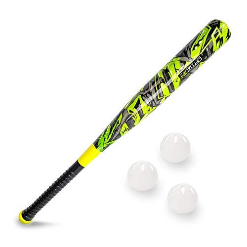 Ortiz34 Graffiti Plastic Bat & Ball Homerun Set- David Ortiz Backyard Baseball Set for Youth, Kids, Teenagers, Adults
