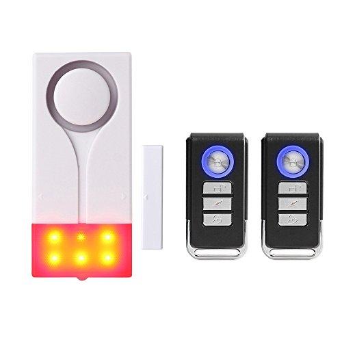 Mengshen Tür Fenster Alarm, Sound Licht Diebstahlschutz Alarm Für Die Sicherheit Der Garage Zu Hause Wohnung -...