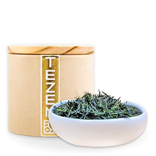 Gyokuro Grüner Tee aus Japan | Premium Gyokuro Tee aus traditionellem Anbau | Japanischer Gyokuro Tee von besten Teegärten (80g)